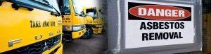 Brisbane TakeAway Bins Trucks and Asbestos