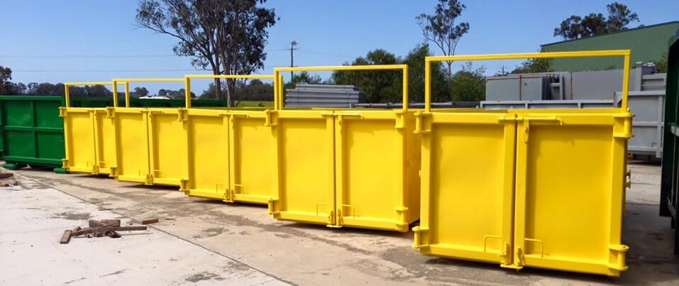 Skip Bins with Doors for Hire